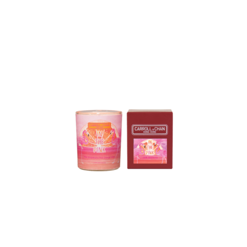 In The Pink Votive Candle