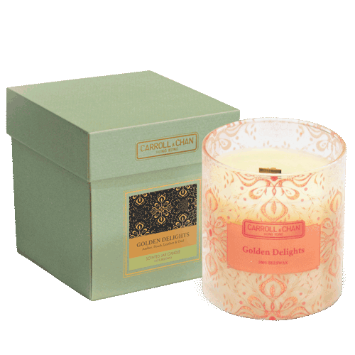 Golden Delights Beeswax Jar Candle