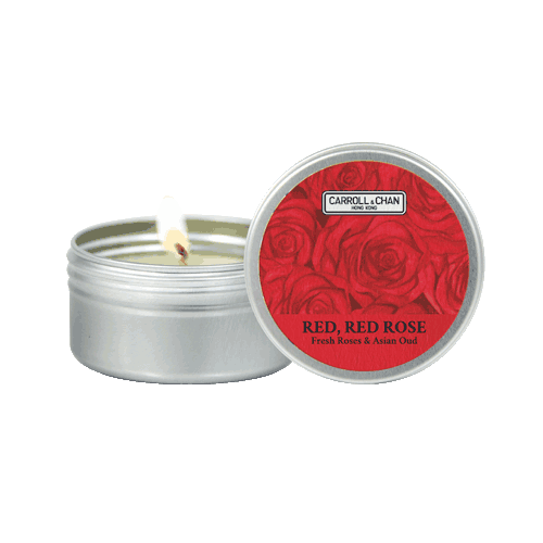 Red, Red Rose Mini Tin Candle
