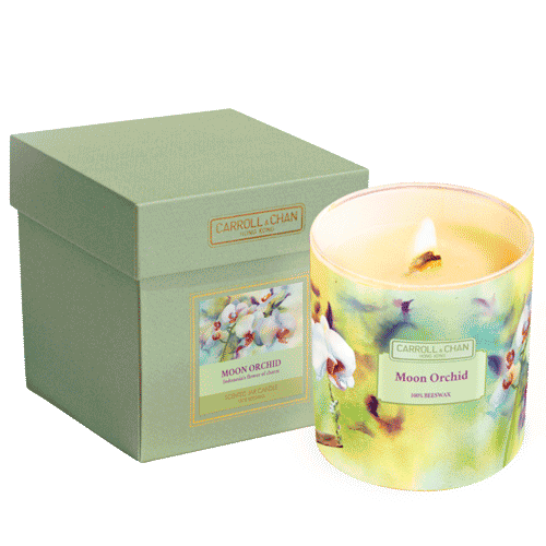 Moon Orchid Jar Candle