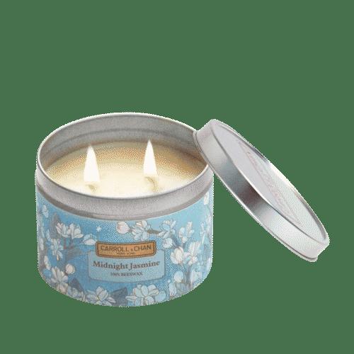 Midnight Jasmine Tin Candle