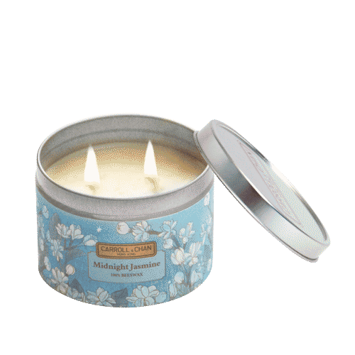 Midnight Jasmine Tin Candle