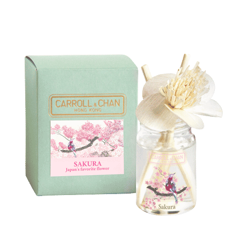 Sakura mini reed diffuser