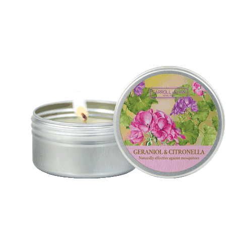 Geraniol & Citronella mini candle