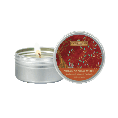 Indian Sandalwood Mini Tin Candle