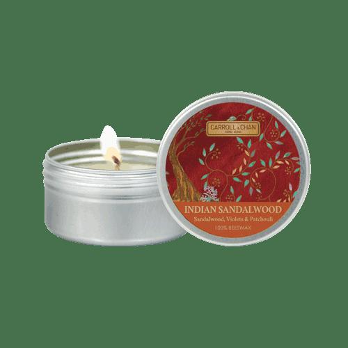 Indian Sandalwood Mini Tin Candle