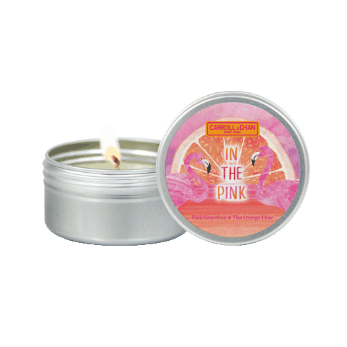 In the Pink Mini Tin candle