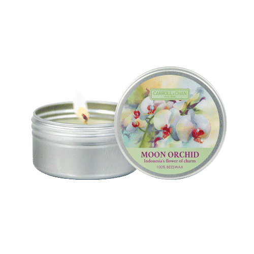 Moon Orchid Mini Tin Candle