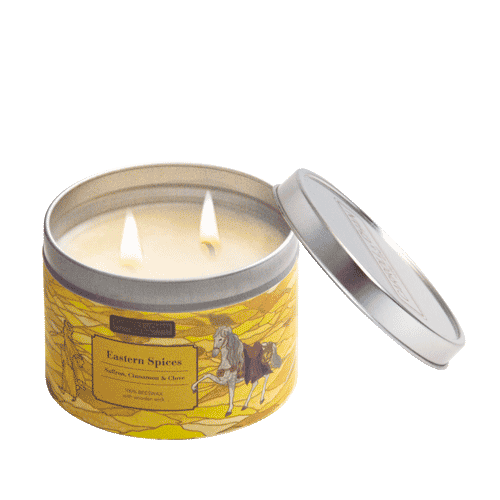Eastern Spices Tin Candle