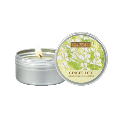 Ginger Lily mini Tin candle