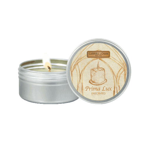 Prima Lux Mini tin Candle beeswax
